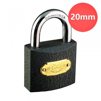 20mm Lemen Iron Padlock Brass Cylinder