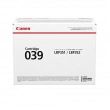 Canon Cartridge 039 Black Toner 11k