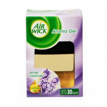 Air Wick Aroma Gel (White Lavender) 140g