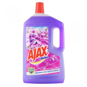 AJAX Fabuloso Lavender Fresh Floor Clean 3L
