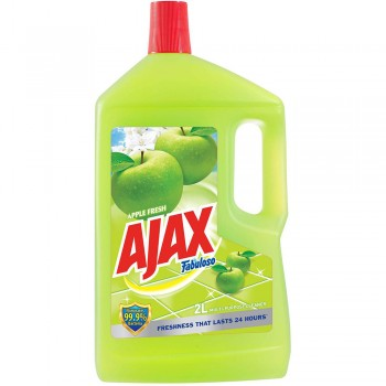 Ajax Fabuloso Apple fresh Floor Cleaner 2L
