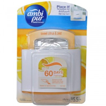Ambi Pur Set & Refresh Starter - Sweet Citrus & Zest