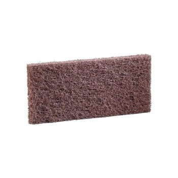 3M Doodlebug Brown Scrub And Strip Pad 8541