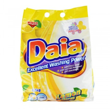 Daia Lemon Citrus Powder 2.5kg ( ITEM NO : F05-14 )