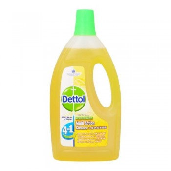 Dettol 4in1 Multi Action Cleaner 1.5L - Fresh Lemon Fragrance