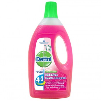 Dettol Multi Action Cleaner 1.5L+FOC 500ml (Jasmine)
