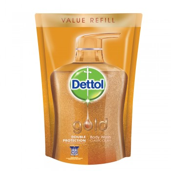 Dettol Gold Shower Gel Classic Gel Refill Pouch 900ml