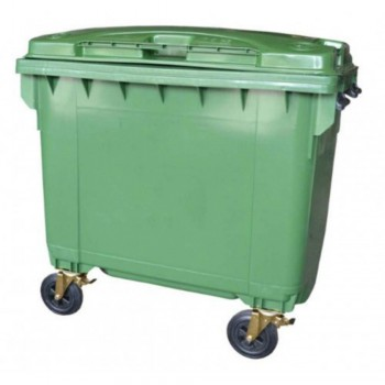 LEADER Mobile Garbage Bins BP 660 Green