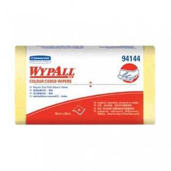 Scott Wypall Wipers Colour Coded - Yellow (Regular Duty) Spunlace x 20 sheets