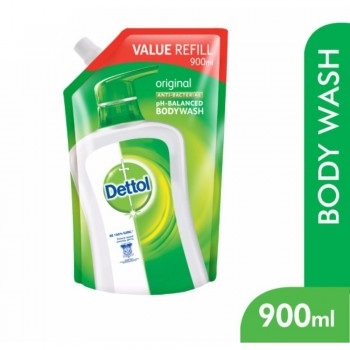 Dettol BodyWash Original 900ml Value Refill Pouch