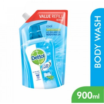 Dettol BodyWash Cool 900ml Value Refill Pouch