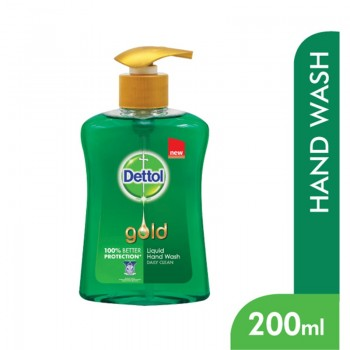 Dettol Liquid Hand Wash Daily Clean 200ml Bottle