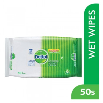 Dettol Anti-Bacterial Wipes 50s