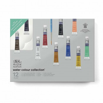 WINSOR & NEWTON WATER COLOUR COTMAN GIFT SET COLLECTION