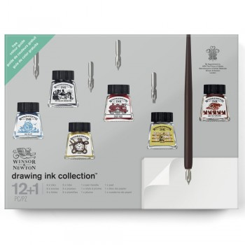 WINSOR & NEWTON DRAWING INK GIFT SET COLLECTION