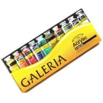 Winsor & Newton Galeria Acrylic Color 10pcs X 60ml