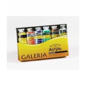 Winsor & Newton Galeria Acrylic Color Sets 6pcs X 60ml
