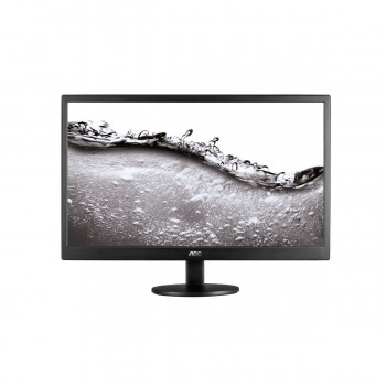 "AOC e970swn 18.5"" LED Monitor Black - 1366 x 768 Resolution, 5ms, 20M:1"