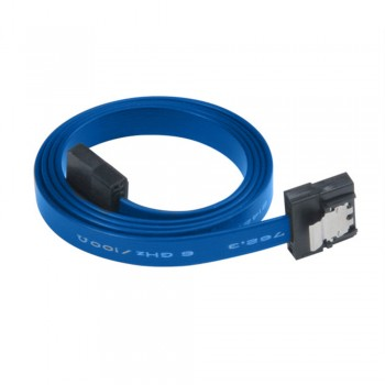 Akasa PROSLIM super slim SATA 3.0 cable - 50cm (Blue)