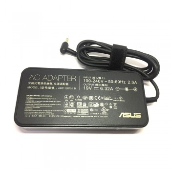 Asus Original AC Adapter Slim Charger - 120W, 19V, 6.32A, 4.5x3.0mm for Asus ROG Series (ADP-120RH B)