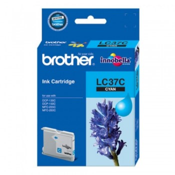 Brother LC-37 Cyan Ink