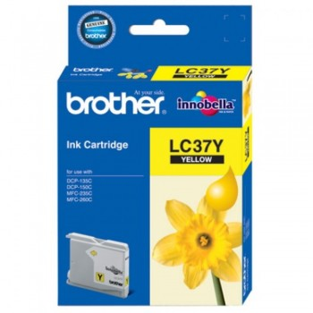 Brother LC-37 Yellow