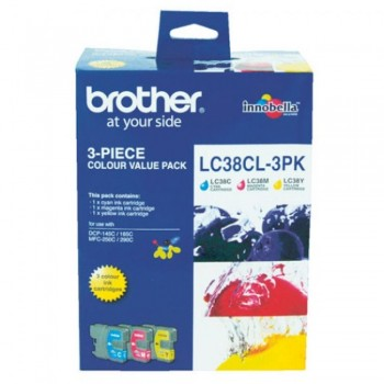 Brother LC-38 Color Value Pack