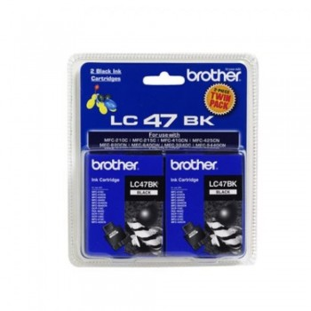 Brother LC-47 Black Twin Pack