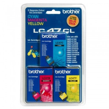 Brother LC-47 Color Value Pack