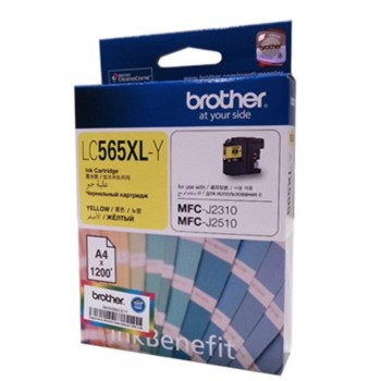 Brother LC-565XL Yellow Ink Cartridge (Item No: B LC-565XLY)