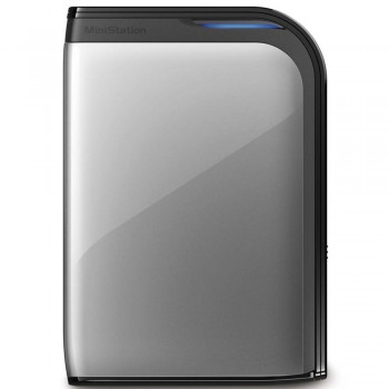 BUFFALO Ministation USB3.0 1TB-Silver