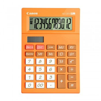 Canon AS-120V-OR Arc Design 12 Digits Calculator (Orange)