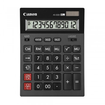 Canon AS-2222 Arc Design Desktop 12 Digits Calculator