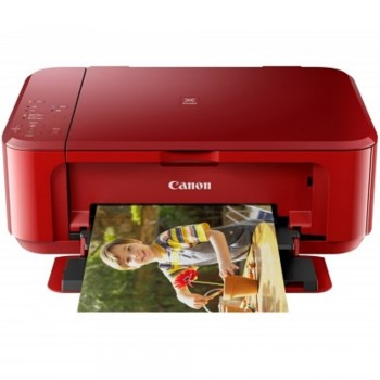 Canon Pixma MG3670 - Red/A4/AIO/Duplex/Cloud Print/Wireless/ Color Home/Photo Inkjet Printer (Item no: CANON MG3670)