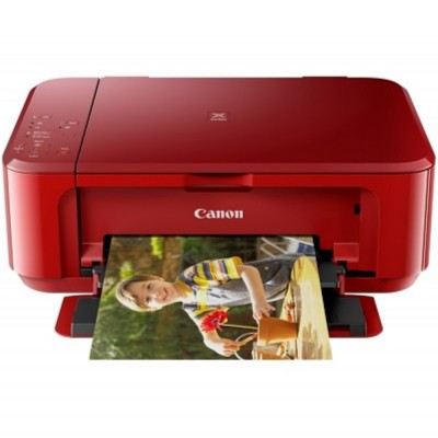 Canon Pixma MG3670 - Red/A4/AIO/Duplex/Cloud Print/Wireless/ Color Home/Photo Inkjet Printer