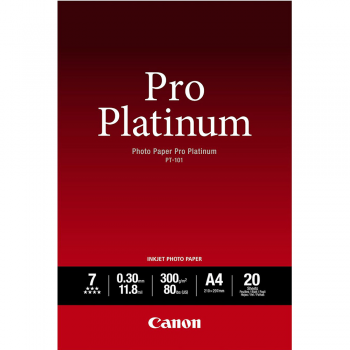 CANON PM-101 A4 Photo Paper Pro Premium Matte 20 shets (Item No: GV160729205019)