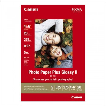 Canon PP-201 4R Photo Paper Plus Glossy (20shts)
