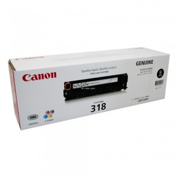 Canon 318 VP Toner Cartridge - Black