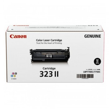 Canon 323 II Toner Cartridge - Black
