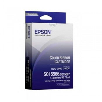 Epson DLQ3000 Color (#S015566) Ribbon Cartridge (Item No: EPS SO15067)