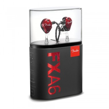 Fender IEM FXA6 In-Ear Monitor - Red