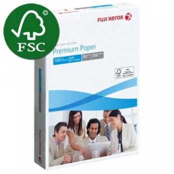 Fuji Xerox Premium Paper - A3 Size - 80gsm - 1 ream (FSC® Certified Product) (very slow moving)