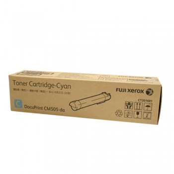Fuji Xerox CT201681 DPCM505da Cyan Toner Cartridge-16K (Item no: XER M505DACY)