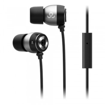 GO GEAR In-Ear Headphones Alumies - Black