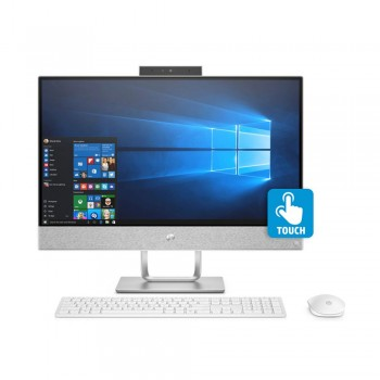 "HP Pavilion 24-R155D 23.8"" FHD IPS Touch AIO Desktop PC - i5-8400T, 4gb ddr4, 1tb, Amd R530 2GB, W10"