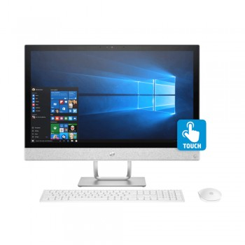 "HP Pavilion 24-R178D 24"" FHD IPS Touch AIO Desktop PC - i7-8700T, 8gb ddr4, 2tb, Amd R530 2GB, W10"