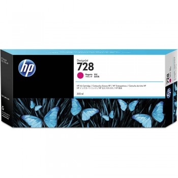 HP 728 300-ml Magenta DesignJet Ink Cartridge (F9K16A)
