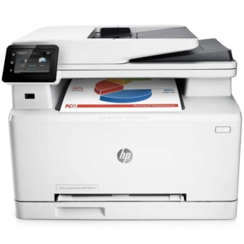 HP Color LaserJet Pro MFP M277n - A4 4in1 Touchscreen LCD Printer