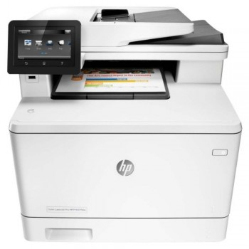 HP LaserJet Pro 400 MFP M477fdw - A4 AIO Duplex/Network Color Laser Printer CF379A