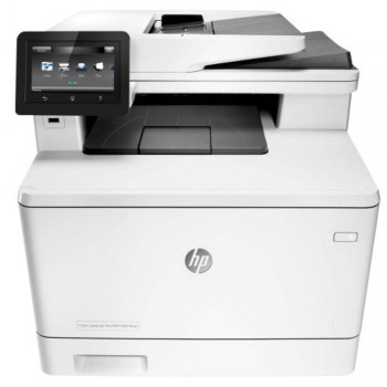 HP LaserJet Pro 400 MFP M477fnw - A4 AIO Network/Wireless Direct Color Laser Printer CF377A